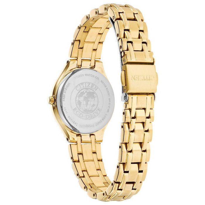 Citizen Eco Drive Ladies Silhouette Watch EW2482-53A back