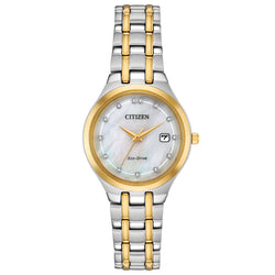 Citizen Eco Drive Ladies Silhouette Diamond Watch EW2488-57D