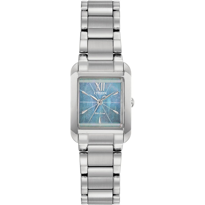 Citizen Eco Drive Ladies Square Watch EW5551-56N