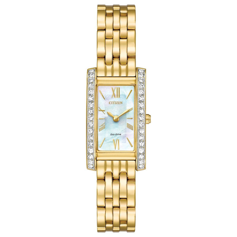 Citizen Ladies Eco Drive Silhouette Crystal Watch EX1472-81D