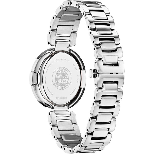 Citizen Ladies Eco Drive Capella Diamond Watch EX1510-59D Back