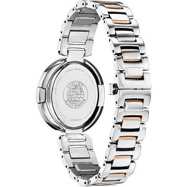 Citizen Ladies Eco Drive Capella Diamond Watch EX1516-52E Back