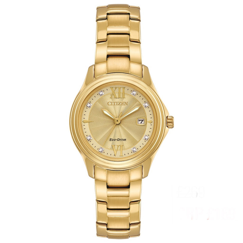 Citizen Ladies Eco Drive Silhouette Crystal Watch FE1132-84P