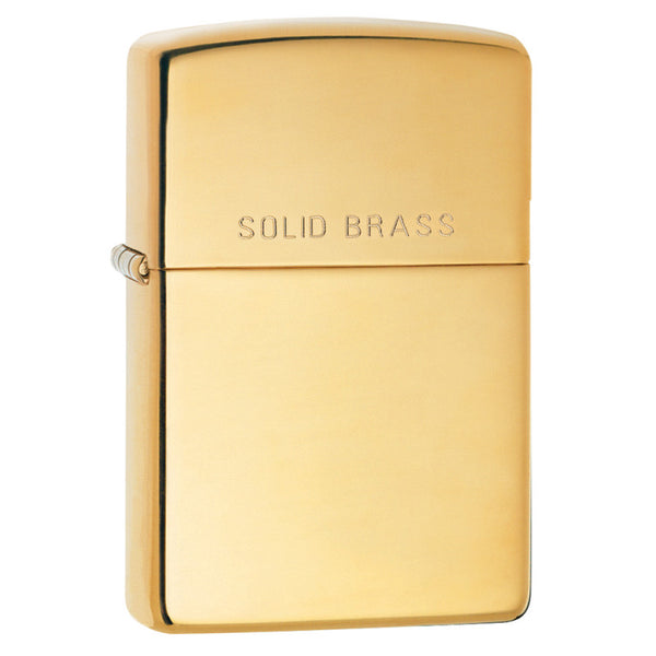 Zippo High Polished Brass 254