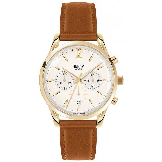 Henry London Mens Westminster Chronograph Watch HL39-CS-0014