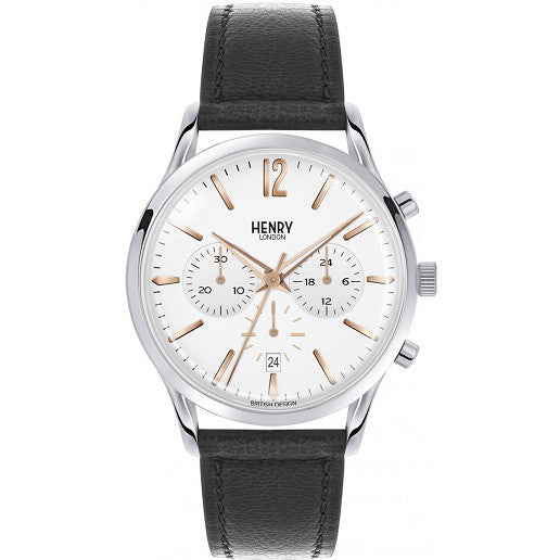 Henry London Mens Highgate Chronograph Watch HL41-CS-0011