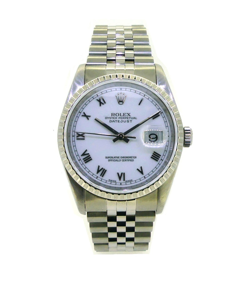 Pre Owned Rolex Men's Datejust 16220