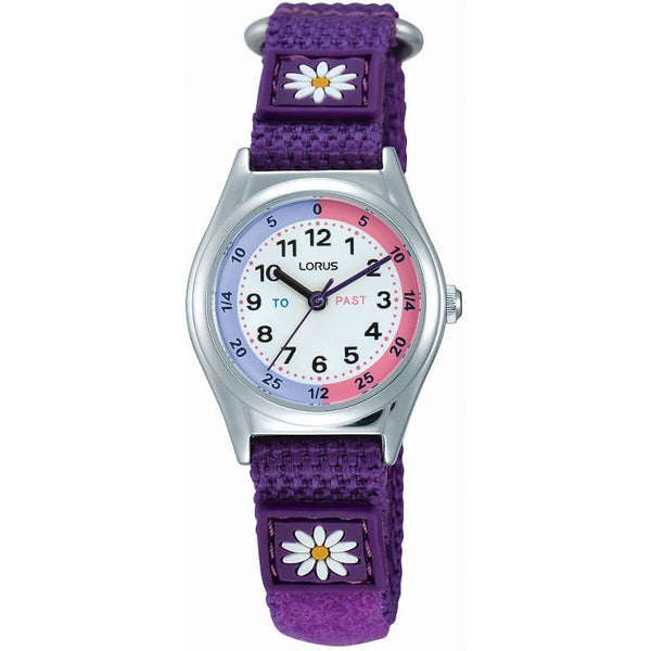 Lorus Girl's Time Teach Watch RG251KX9