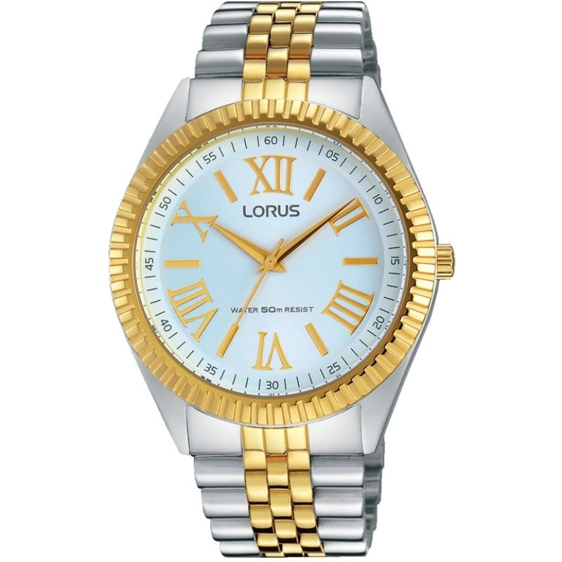 Lorus Ladies Two Tone Bracelet 'Boyfriend' Watch RG284JX9