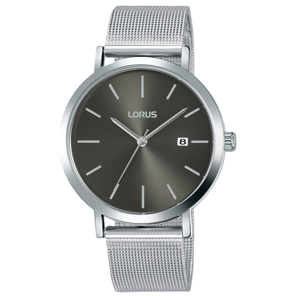 Lorus Men's Classic Mesh Bracelet Watch RH919KX9