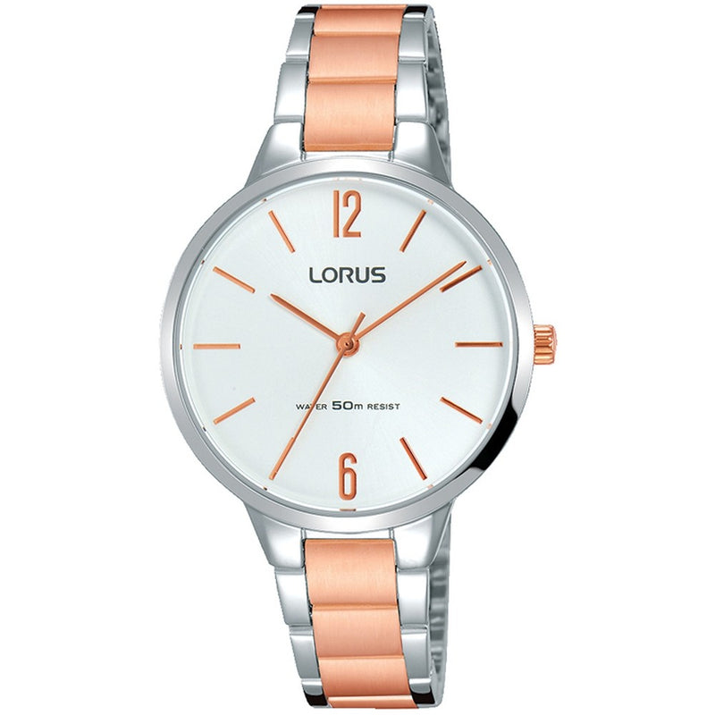 Lorus Ladies Two Tone Bracelet Watch RRS19WX9