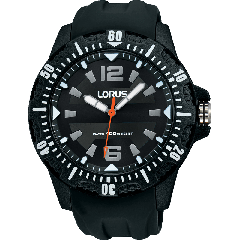 Lorus Men's Silicone Strap Sports Watch RRX05EX9