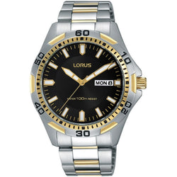Lorus Men's Two Tone Sports Bracelet Watch RXN20DX9