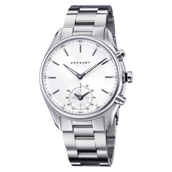 Kronaby Sekel 43mm Smart Hybrid Watch S0715/1