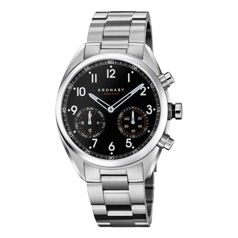 Kronaby Apex 43mm Smart Hybrid Watch S3111/1 2