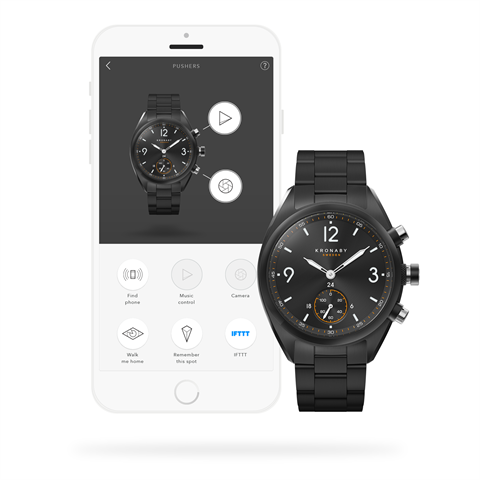 Kronaby Apex 41mm Smart Hybrid Watch S3115/1connected