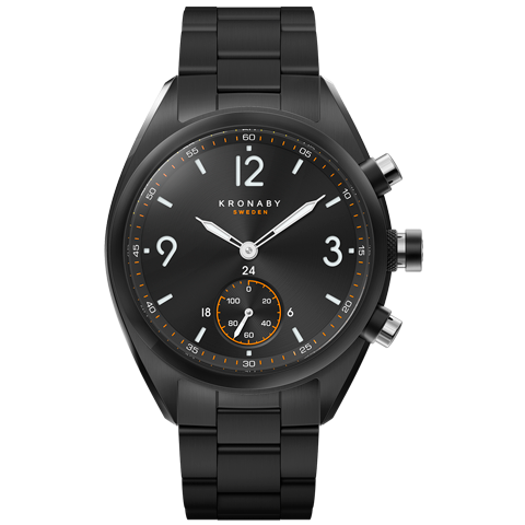 Kronaby Apex 41mm Smart Hybrid Watch S3115/1 2