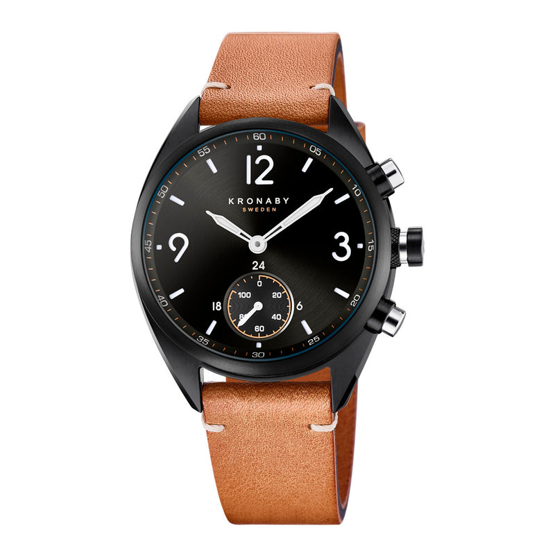 Kronaby Apex 41mm Smart Hybrid Watch S3116/1