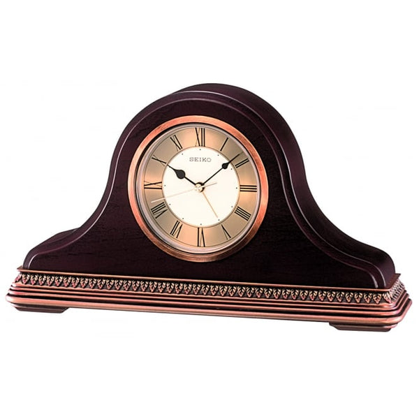Seiko Wooden Mantle Clock QXE017B