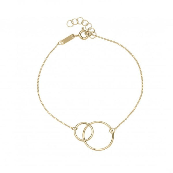Unique & Co Gold Circles Bracelet DBR-25