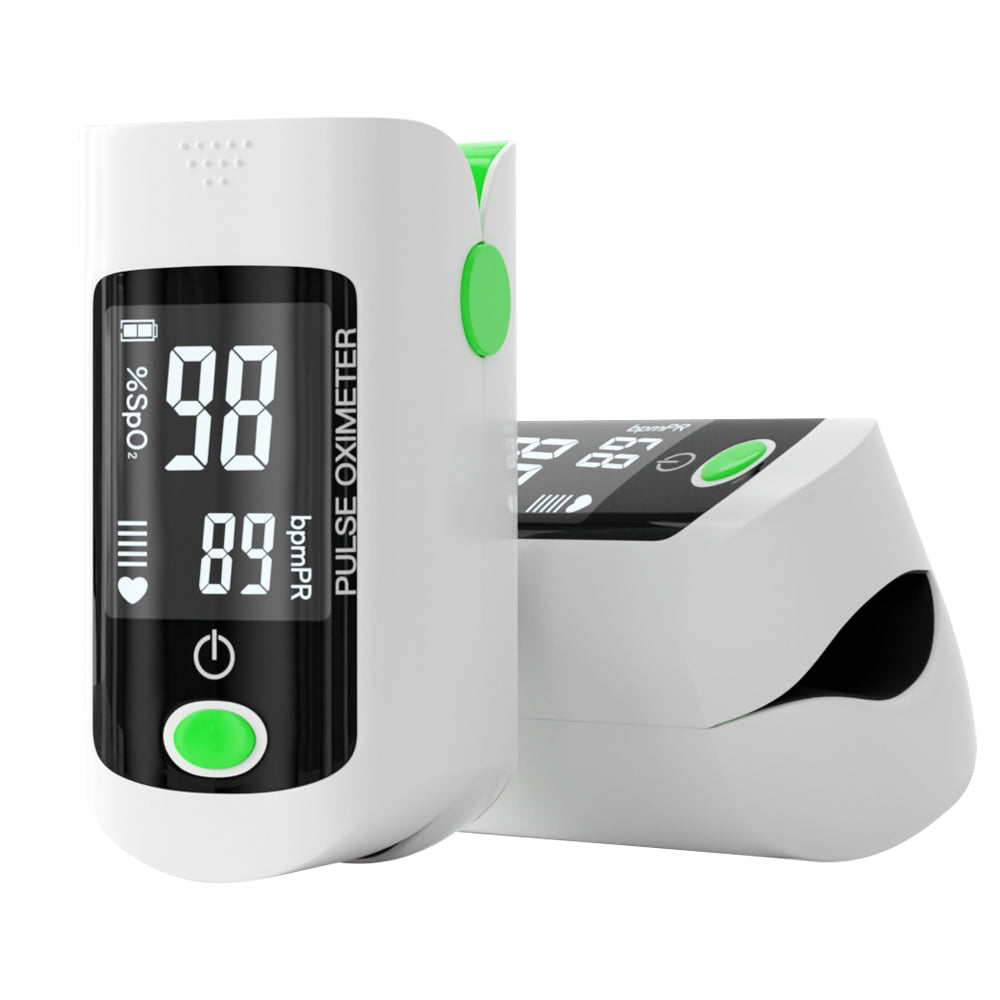 BOXANIA® Fingertip Advanced New Pulse Oximeter for SPO2 I CE and FDA Certified