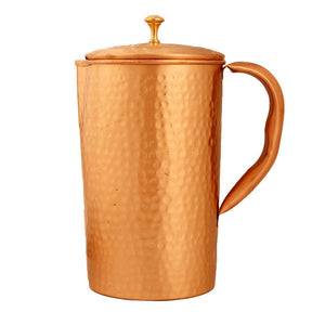 Boxania Copper Hammered Jug 1L