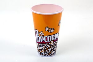 Plastic Popcorn Containers | Microwave Safe | Boxania