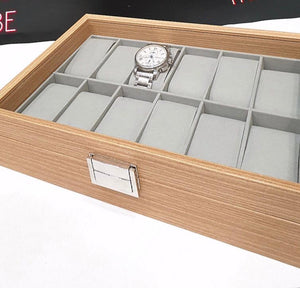 Premium Wooden Watch box - 12 Slots