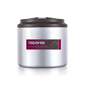 Tedemei Stainless Steel Lunchbox 1 Ltrs (6552)