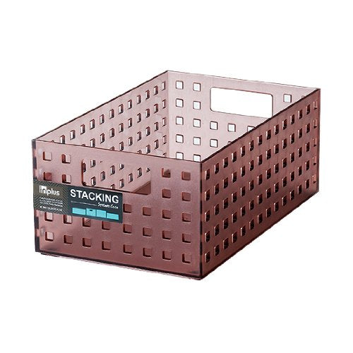 Lock&Lock Stacking System Case, Red Wine (INP455)