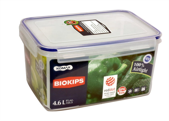 Glass Storage Containers| BIOKIPS Container 4.6Lt