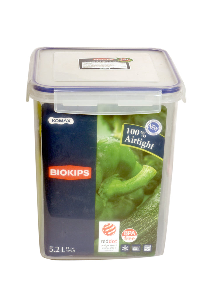 Large Plastic Storage Containers | BLOKIPS Container 5.2lt | Boxania