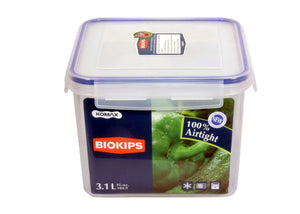 Plastic Food Containers | BLOKIPS Container 3.1Lt