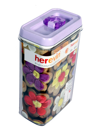 plastic food storage canister
