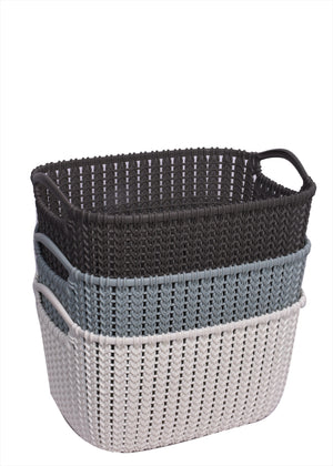boxania knit laundry basket