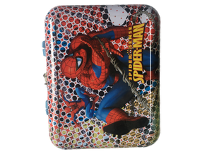 Spiderman Suitcase Piggy,Money Bank ( with lock )