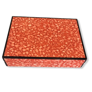 Boxania® Luxury Wooden Cards Box ( Set of 2 cards) Mix colours