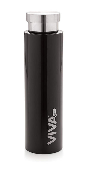 Stainless Steel Water bottle, Trendy, Fridge Bottle,For Kids,Teens,Travellers, Camping, Sports, Office Desk,School Kids Water Supply 800ml by VIVA h2o