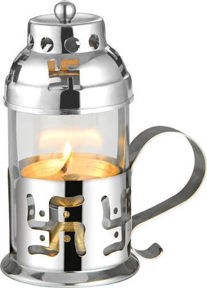 Akhand Jyoti Diya ( Stainless Steel - Small )
