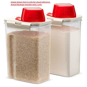 KOMAX Biokips Fresh Grain Container 2.8 Litre I BPA Free I Airtight Food StorageI pack of 1