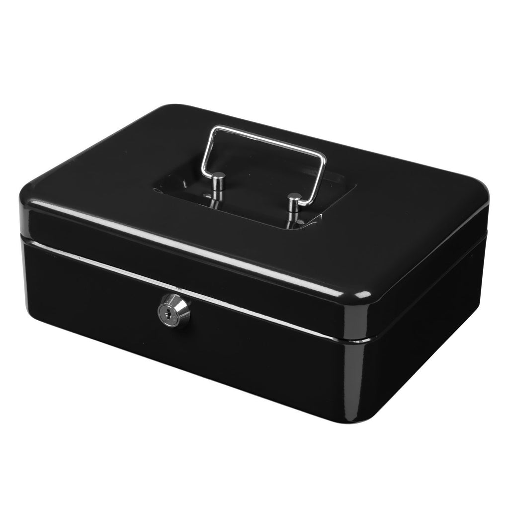 Metal Cash Box ( Black)