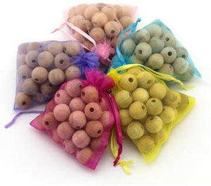 Clean-Living™ Natural Camphor Wood Balls Repellent (Pack of 40 Pieces)