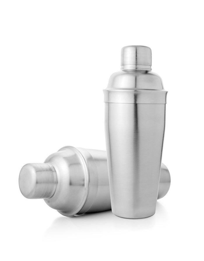 Delux Stainless Steel Cocktail Shaker, 750ml, Silver