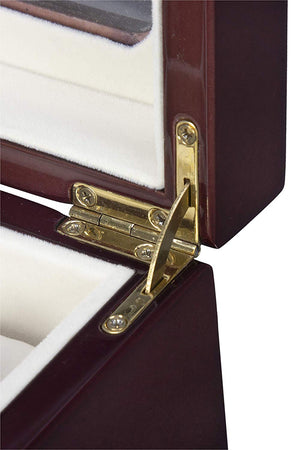 Boxania Watch/Cuff-Link/Ring Box in (Rosewood Color)