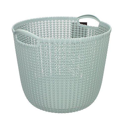 Curver Knit round Basket 30 Ltrs Laundry Basket  ( 3 colours ) Made in Germany