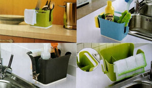 BOXANIA® Kitchen Dewatering & Storage Box Sink Drainer Cleaning - Mix Colour