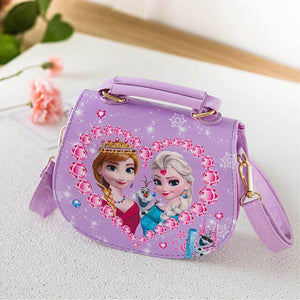 Cartoon Printed Purse (Frozen) Waterproof Sling Bag  (Multicolor)