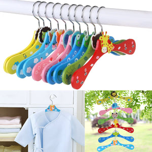 Kids wooden hanger