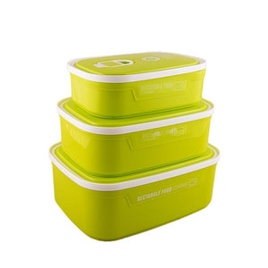 Set of 3 - Lunch Box