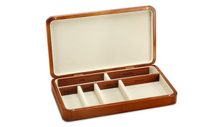 Pocket Changer, Pocket, Keys , Business Card , Watch , Pen , Wallet , Glasses Organizer (Walnut Colour)